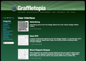 Graffletopia - UI elements overload