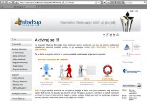 startup.si, copyright infrigement