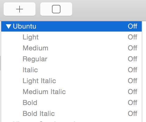 disable-ubuntu-font