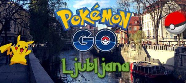 Pokemon Go Ljubljana
